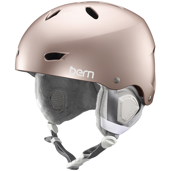 バーン Bern [Winter Model] BRIGHTON Satin Metallic Rose Gold [ヘルメット][自転車][レディース][女性用][7/17 13:59まで ポイント10倍]