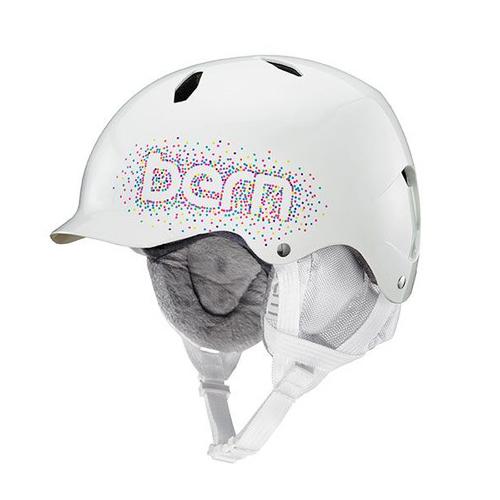 バーン Bern [Winter Model] BANDITA Gloss White Confetti [ヘルメット][キッズ][子供用][女の子]