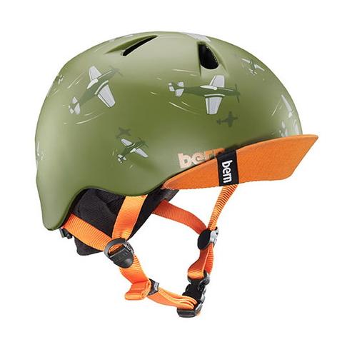 ニーノ マットグリーンドックファイト ヘルメット キッズ 子供 正規品スーパーSALE×店内全品キャンペーン 価格 バーン Green NINO Bern BE-VJBMGDV-11 Matte Dogfight