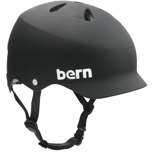 バーン Bern WATTS Matte Black [JAPAN FIT][ヘルメット][自転車][BE-BM25BMBLK-07]