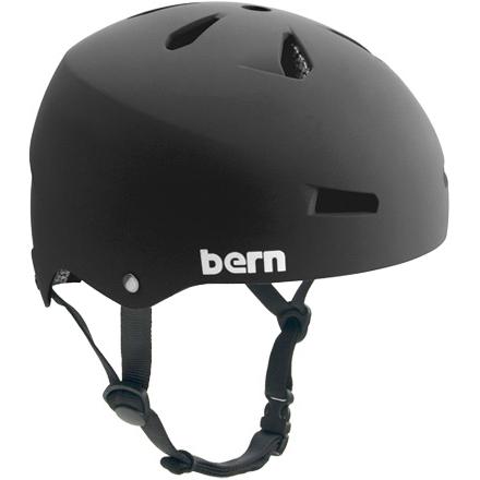 バーン Bern MACON Matte Black [JAPAN FIT][ヘルメット][自転車]
