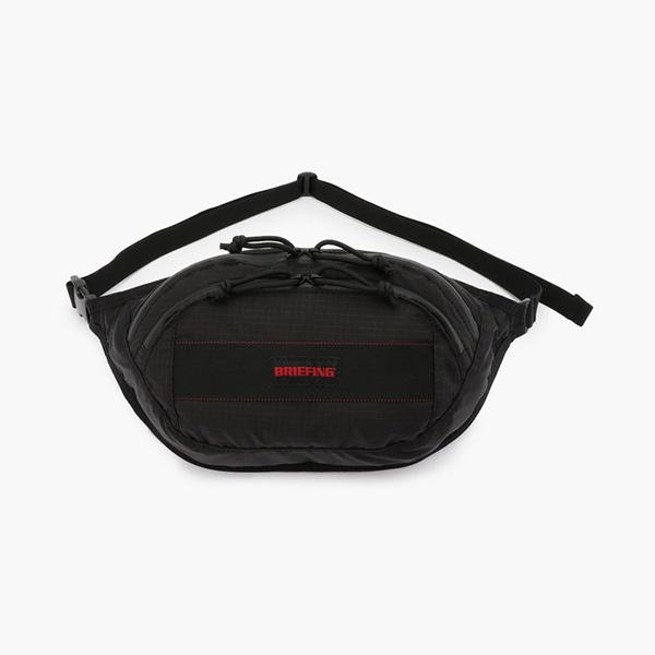 ブリーフィング BRIEFING Fanny Pack SP Black [BRA193L55010001]
