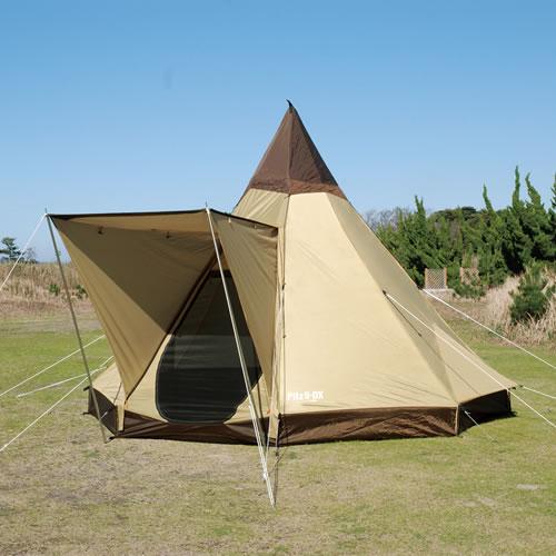 キャンパルジャパン CAMPAL JAPAN ピルツ9DX [モノポールテント][4人用][八角錘テント][キャンプ][夏フェス]