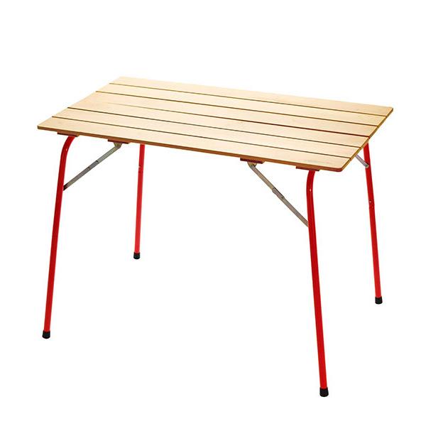 カステルメルリーノ CASTELMERLINO ハイ&ローキャンパーテーブル 100×60
