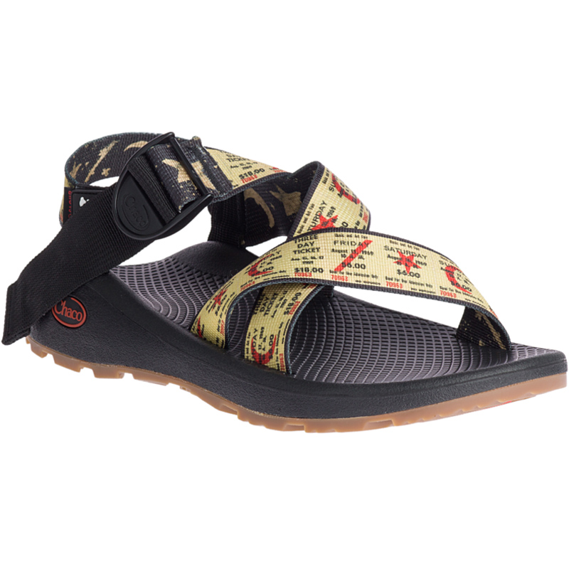 チャコ Chaco Mens Mega Z Cloud Woodstock Weekend Ticket