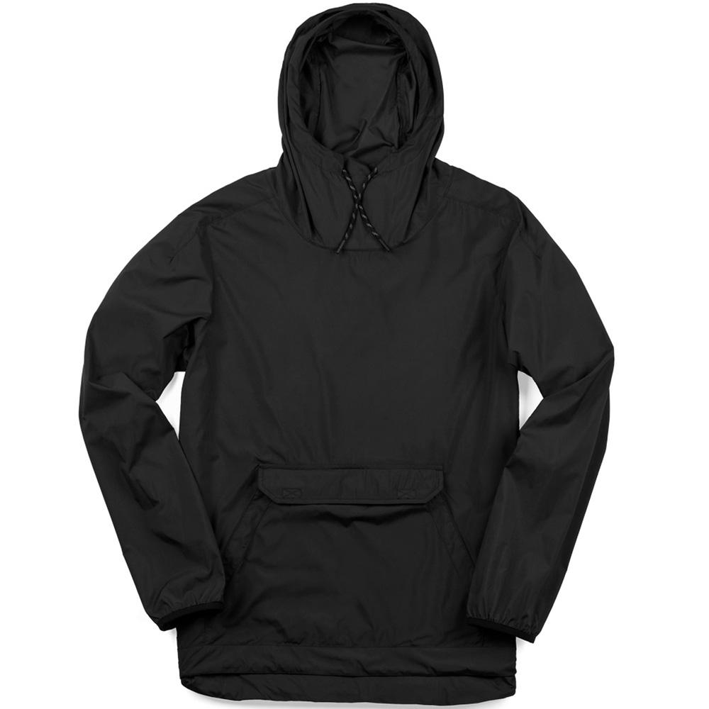 【大注目】 クローム ANORAK CHROME クローム BUCKMAN PACKABLE Black ANORAK Black, ごくらくや:6f0a8191 --- milklab.com