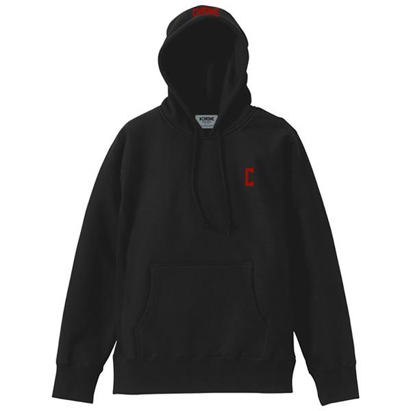 【セール】 クローム HOODIE CHROME C-LOGO SWEAT HOODIE C-LOGO Black Black/Red/Red [JP084BKRD][2019年新作], DEROQUE due:306b0da7 --- milklab.com