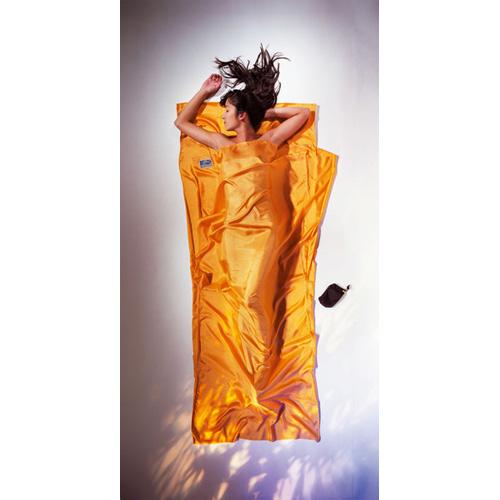 コクーン Cocoon ST71 トラベルシーツ シルク サンセットオレンジ [スリーピングバッグ用ライナー][寝袋シーツ][アウトドア用寝具]