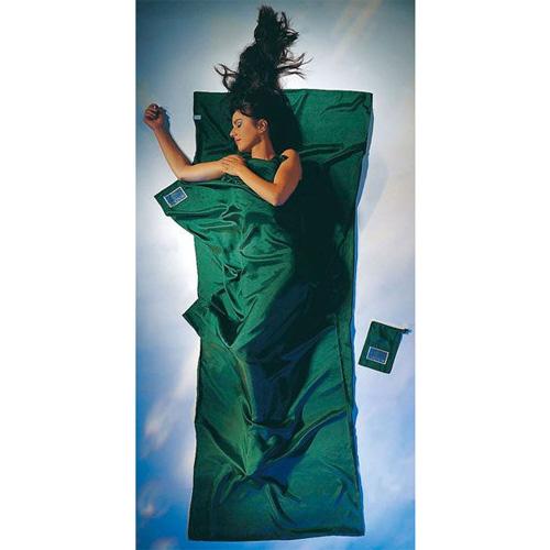 コクーン Cocoon ST70 トラベルシーツ シルク ダークオリーブグリーン [スリーピングバッグ用ライナー][寝袋シーツ][アウトドア用寝具]