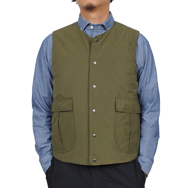 【vic2セール】 デリシャス DELICIOUS Travel Vest 2WAY Khaki [DB1931][2019年新作]