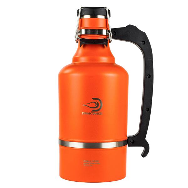 ドリンクタンク DRINKTANKS グラウラー 128oz (3.8L) Tangerine[11/16 9:59まで ポイント10倍]