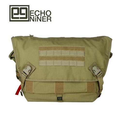 エコナイナー ECHO NiNER メッセンジャーバッグ CYT [コヨーテ][X-MESSENGER BAG][E9-MB][4/4 9:59まで ポイント2倍]