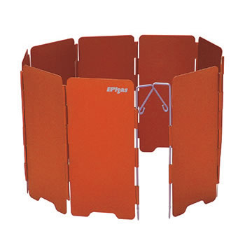 分離型ストーブ用の風防 20%OFF 再再販 vic2セール EPIガス EPIgas ウインドシールド オレンジ 分離型用 風防 A-6507 ショート S 秀逸