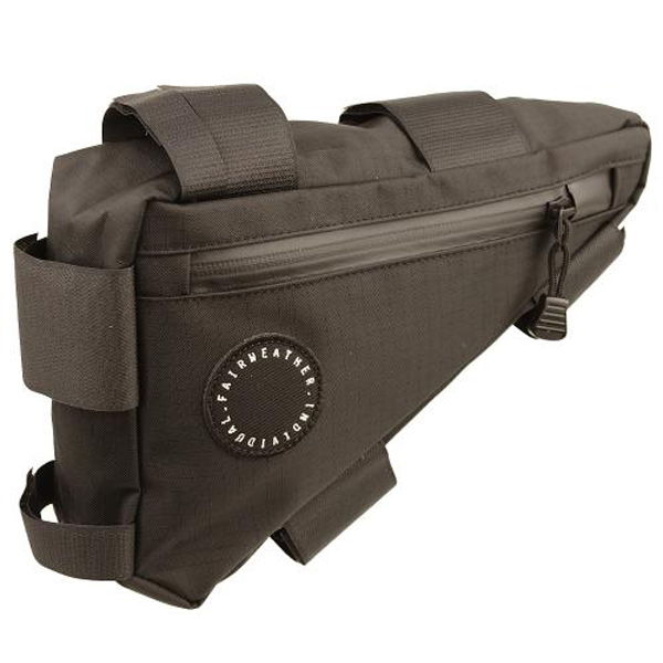 フェアウェザー FAIRWEATHER corner bag black [コーナーバッグ][ブラック][自転車用バッグ][バイクバッグ]