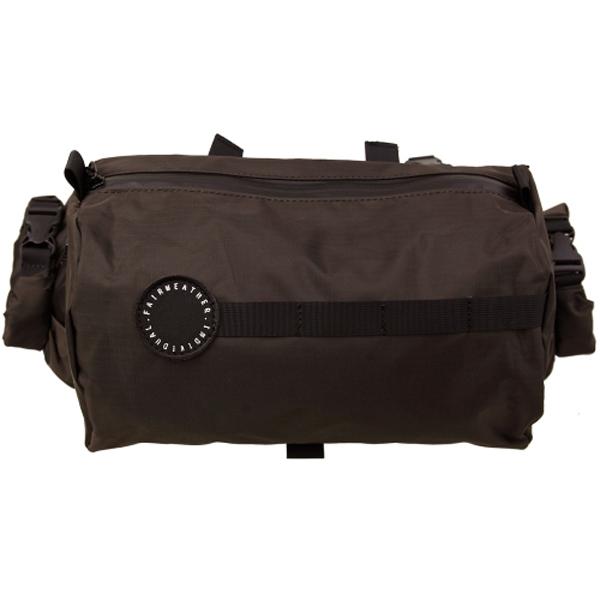 フェアウェザー FAIRWEATHER handle bar bag ハンドルバーバッグ brown ブラウン [ハンドルバーバッグ][自転車用バッグ][バイクバッグ][バイクアクセサリー]