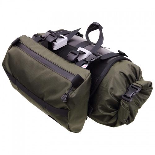 フェアウェザー FAIRWEATHER Handlebar Bag Plus olive [ハンドルバーバッグプラス][オリーブ][シートバッグ][自転車][サブバック][小物入れ][ツーリング]
