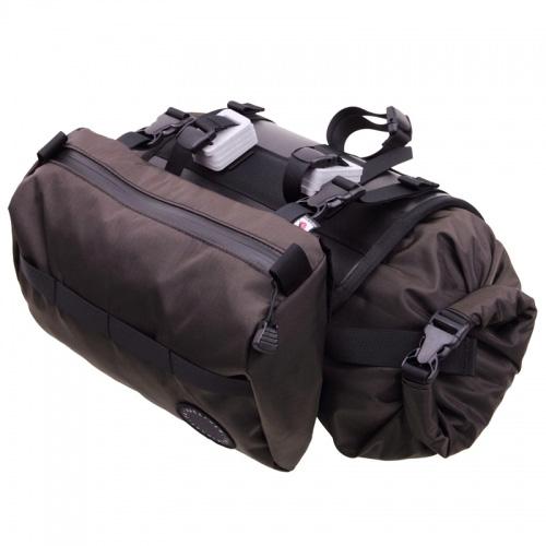 フェアウェザー FAIRWEATHER Handlebar Bag Plus brown [ハンドルバーバッグプラス][ブラウン][シートバッグ][自転車][サブバック][小物入れ][ツーリング]