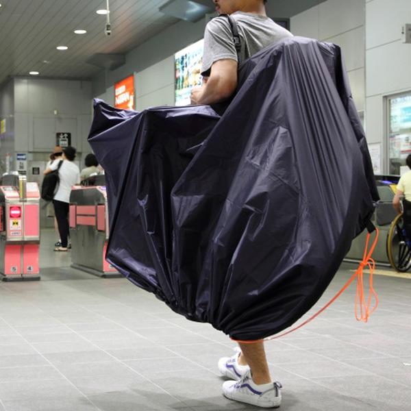 フェアウェザー FAIRWEATHER bike carry bag navy [バイクキャリーバッグ][輪行バッグ][パッカブル][ネイビー]