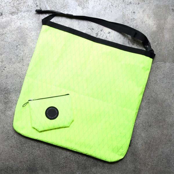 【あす楽対応 平日13:00まで】 フェアウェザー FAIRWEATHER packable sacoche x-pac/flash yellow [2019年新作]