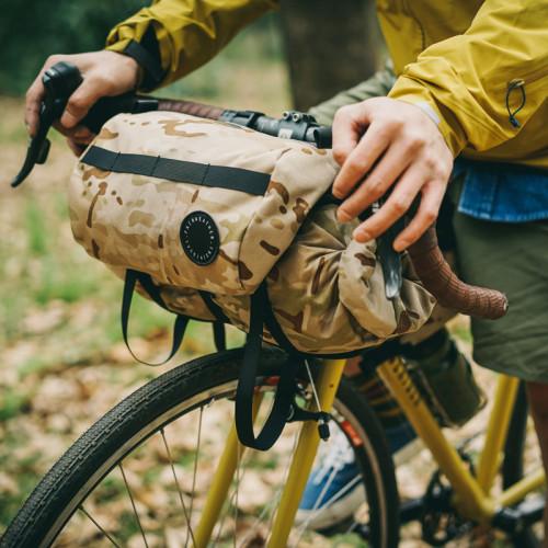 フェアウェザー FAIRWEATHER handle bar bag + x-pac coyote