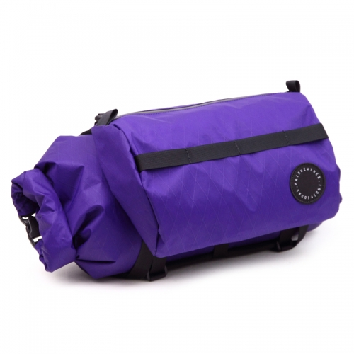 フェアウェザー FAIRWEATHER handle bar bag + x-pac/purple [2019年新作]