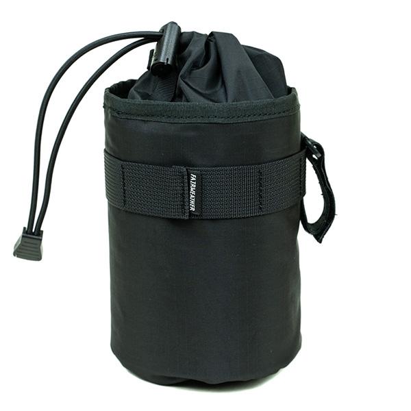 ステムバッグ フレームバッグ ドリンクホルダー フェアウェザー FAIRWEATHER 激安通販専門店 bag black stem 最新号掲載アイテム ripstop