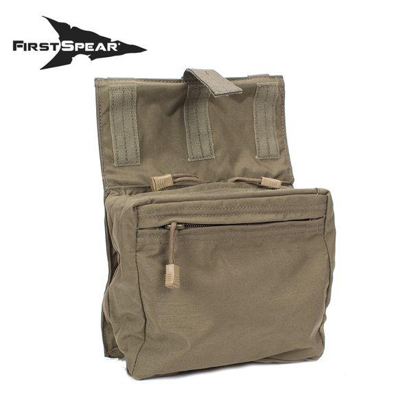 ファーストスピアー First Spear Roll Up Style Cargo Pocket(Dump Pouch)6/9 BK [vic2]