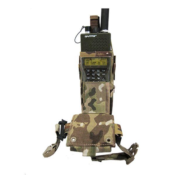 ファーストスピアー First Spear MultiAccessRadioPouchAN/PRC MBITR 6/9 BK [vic2]