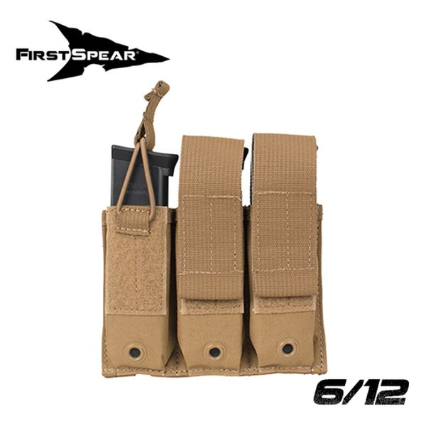 ファーストスピアー First Spear PistolShingle3Mag(Flap&SpeedTab) 6/12 BK [vic2]