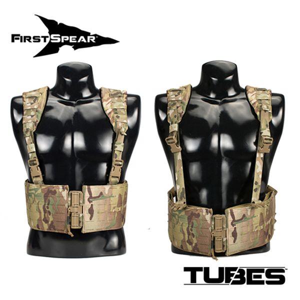 ファーストスピアー First Spear Jungle Airborne Chest Rig (JOKER) Tubes 6/12 BK [vic2]