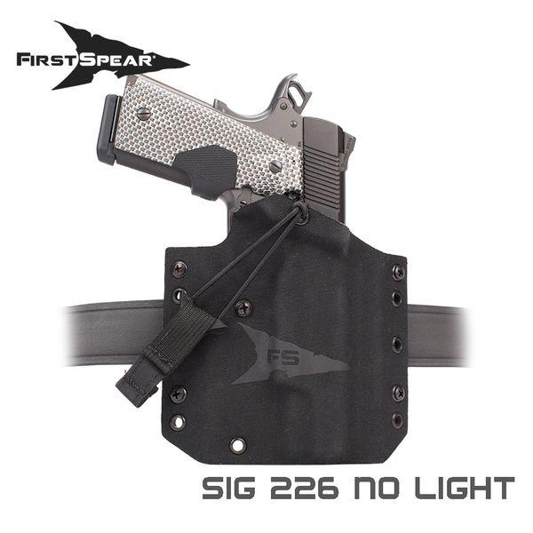 ファーストスピアー First Spear Sig 226 SSV Belt Holster No Light BK RH [vic2]