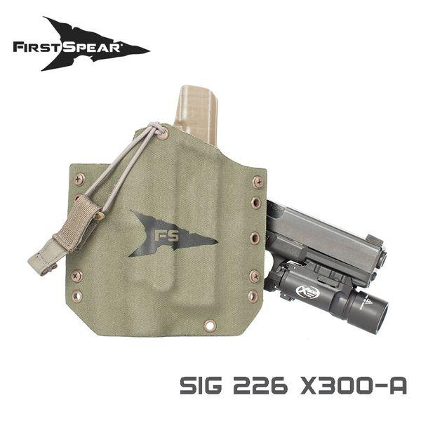 ファーストスピアー First Spear Sig 226 OWB w/SF X300/U BK RH [vic2][500-13-03032-9001-20]