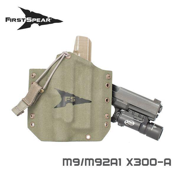 ファーストスピアー First Spear M9/M92A1 OWB w/SF X300/U MG RH [vic2][500-13-03035-9058-20]