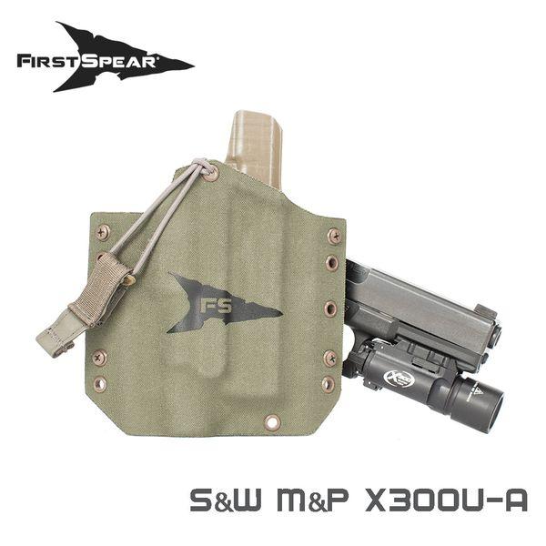 ファーストスピアー First Spear M&P9/40 Full SSV Belt Holster W/X300U BK RH [vic2]