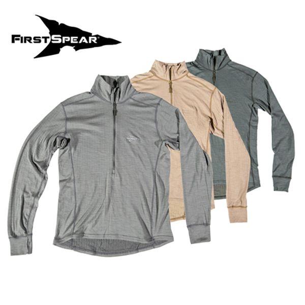 高価値セリー ファーストスピアー First Spear Grey Mid Shirt FS400 First Wool Manatee Manatee Grey [ミリタリーギア][アウトドア][サバゲー], 西区:fc35a35f --- milklab.com