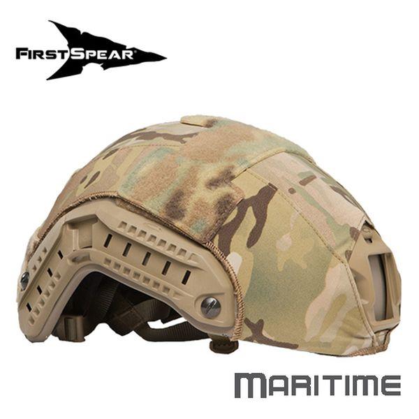 ファーストスピアー First Spear Helmet Cover MaritimeSolid Stretch RG [ミリタリーギア][アウトドア][サバゲー]
