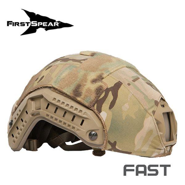 ファーストスピアー First Spear HelmetCover FAST SolidStretch BK [ミリタリーギア][アウトドア][サバゲー]