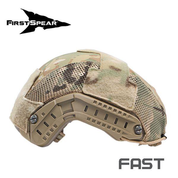 ファーストスピアー First Spear Helmet Cove FAST Hybrid BK [ミリタリーギア][アウトドア][サバゲー]