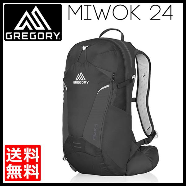 グレゴリー GREGORY Miwok 24 StormBlack [ミウォック][ストームブラック][バックパック][24L][7/13 13:59までポイント10倍]