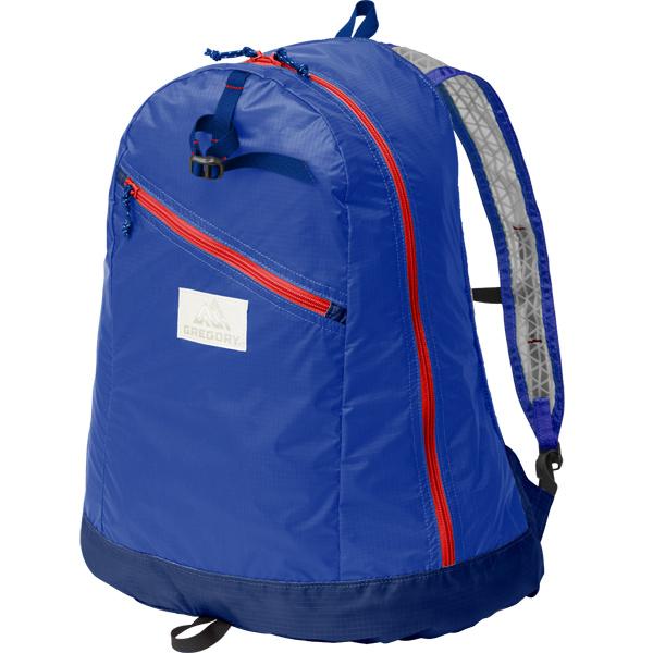 グレゴリー GREGORY Day Pack LT Blue/Red [デイパックLT][パッカブル][22.5L][7/17 13:59まで ポイント10倍]