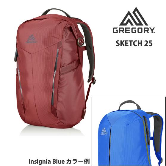 【30%OFF vic2セール】 グレゴリー GREGORY Sketch 25 Insignia Blue [スケッチ25][デイパック][25L]