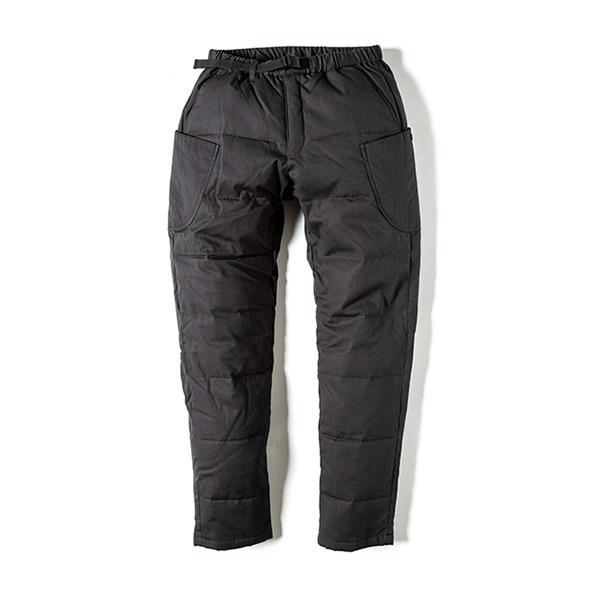 グリップスワニー Grip Swany Fireproof Down Camp Pants チャコールBK [GSP-56][2019年新作]