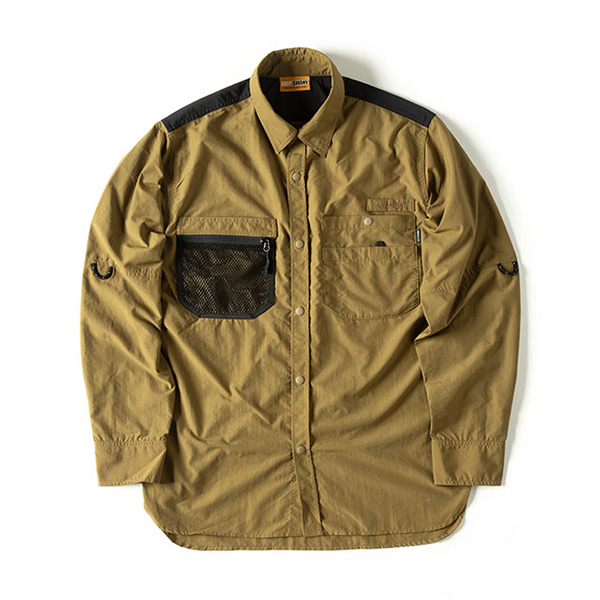 グリップスワニー Grip Swany Gear Shirt Coyote [GSS-28][2019年新作]