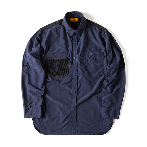 グリップスワニー Grip Swany Gear Shirt Navy [GSS-28]