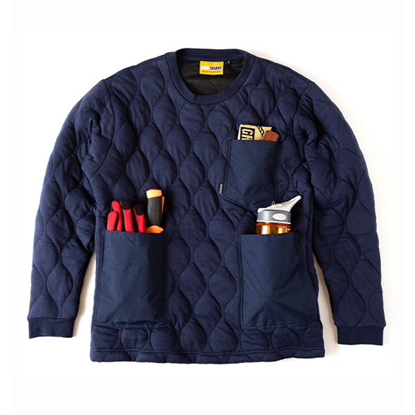 Quilt [GSC 28][2019年新作] Navy Crew Pocket Camp Swany Grip