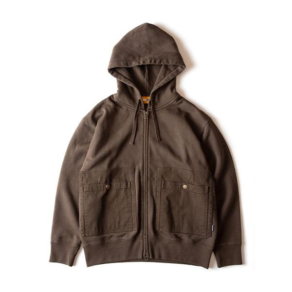 グリップスワニー Grip Swany Camp Pocket Hoodie DKオリーブ [GSC-29]