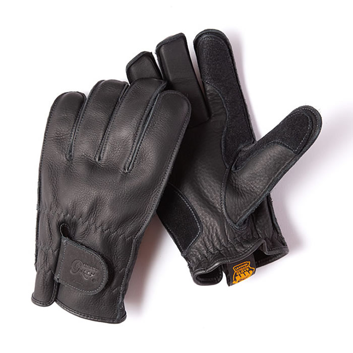 国内在庫 人気急上昇 Grip Swany グリップスワニー グローブ 立体裁断で手にフィットするGRIPSWANY G-3B レザーグローブ 撥水性も備えた本皮レザーグローブ ジースリーブラック 革手袋