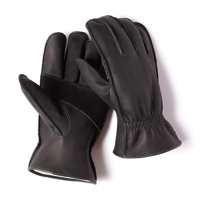 Grip Swany グリップスワニー グローブ 立体裁断で手にフィットするGRIPSWANY 配送員設置送料無料 新着セール 撥水性も備えた本皮レザーグローブ ジーシックス G-6B 革手袋 ブラック レザーグローブ
