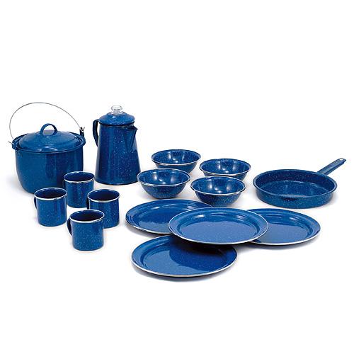 GSI パイオニア キャンプセット ブルー [アウトドア用食器][ホーロー食器][クッキング用品][調理小物][キャンプ用品][4/4 9:59まで ポイント10倍]