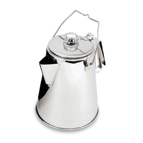 GSI ステンレス コニカル パーコレーター 14CUP [コーヒーメーカー][調理器具][アウトドア用品][クッキング用品][キャンプ用品]